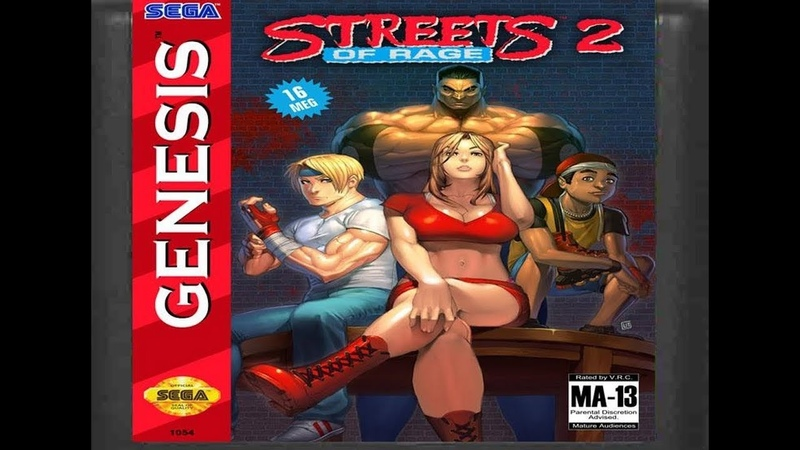 Back in My Childhood Days Streets of Rage 2