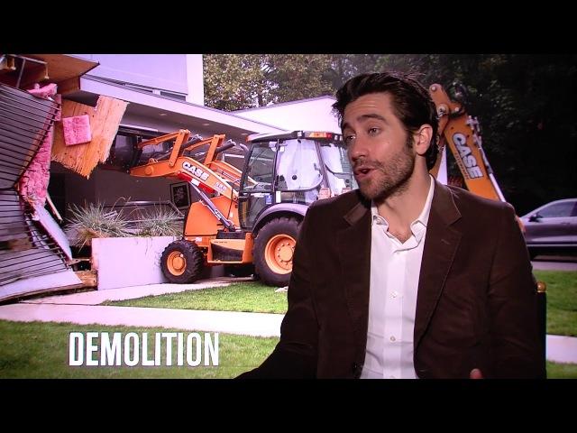 DEMOLITION: Jake Gyllenhaal Talks Destruction Scene Chaos and Favorite Vending Machine Snack