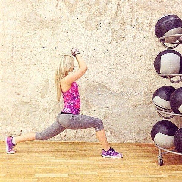 Упражнения для красивой попы (1 фото) - картинка