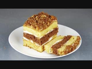 ТОРТ со сгущенкой за 30 минут! Простой рецепт вкусного торта