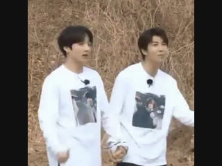 When joon intertwine his and kook's hands?  i'm gone