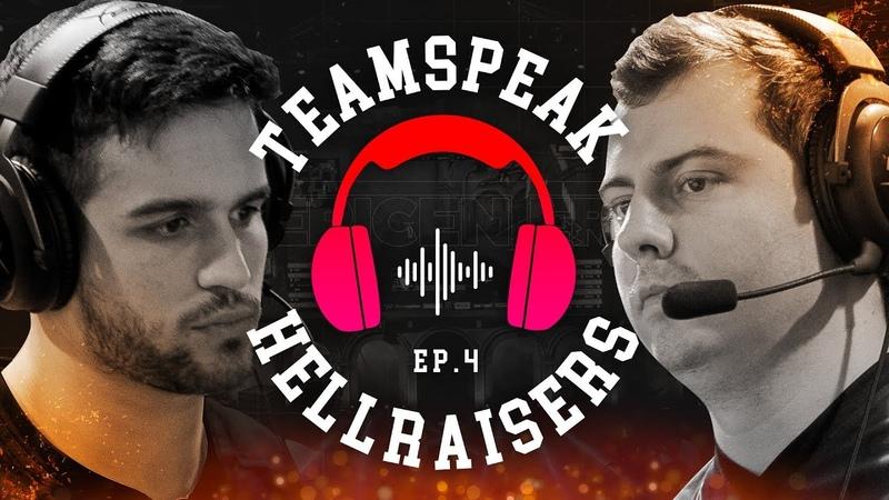 TeamSpeak of HellRaisers / Match vs Swole Patrol at EPICENTER 2018