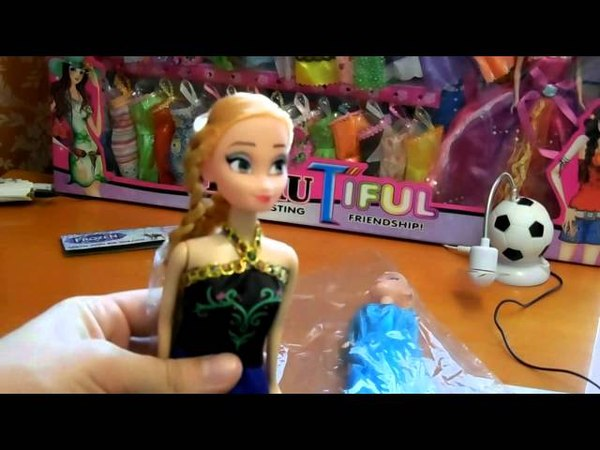 Disney Frozen 2 Anna Elsa Холодное сердце Play Doh
