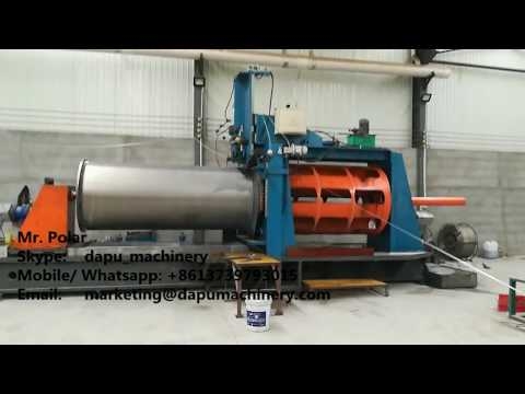 Wedge wire screen mine crush screen sieve mesh welding machine