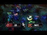 Amazing teamwipe by Fnatic vs LGD @ HyperX D2L