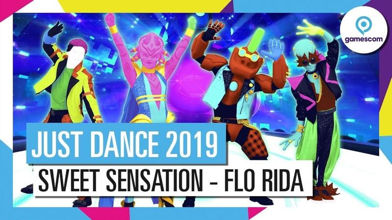 SWEET SENSATION - FLO RIDA   JUST DANCE 2019 [OFFICIAL]
