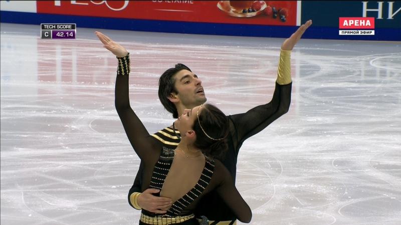 Rostelecom Cup 2017. Ice Dance - FD. Alisa AGAFONOVA / Alper UCAR