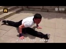 Chinese Kung-Fu! A 57-year-old man can go 52-step downstairs backwards within 5 seconds!