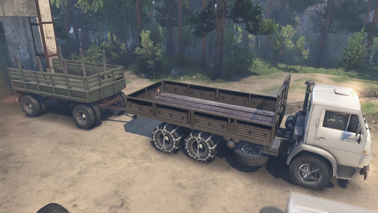 КамАЗ-55102 для 8.11.15 для Spintires - Скриншот 1