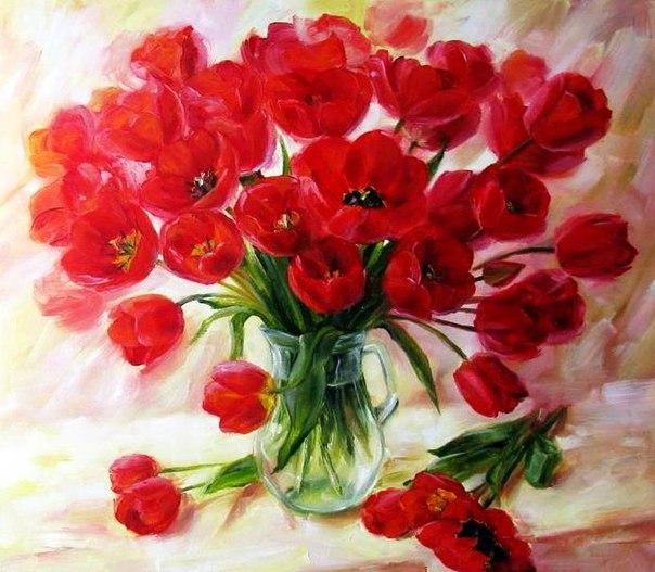 Весной даже страшное кажется пустяковым. Весной слёзы высушивает в цветочно-завораживающий воздух. Весной расцветают сердца...