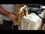 Свадебное чаепитие. Под звуки саксофона. Свадьба 12 октября 2018. Кафе