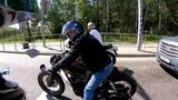 Yamaha Warrior Custom vs BMW K100