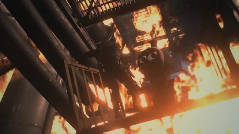 Resident Evil 2 Паравозик Томас