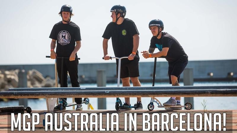 MGP Australia @ Extreme Barcelona 2018 ISA World Scooter Championships