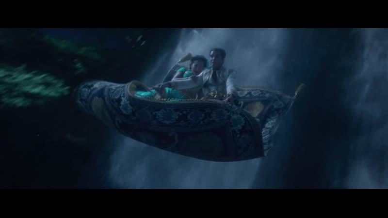 Промо-ролик фильма «Аладдина»