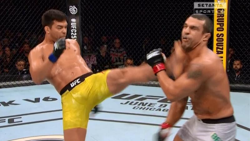Нокаут от Лиото Мачиды в бою с Витором Белфортом (Lyoto Machida vs. Vitor Belfort)