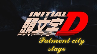 Initial D - Palmont City Stage [NFS Carbon]