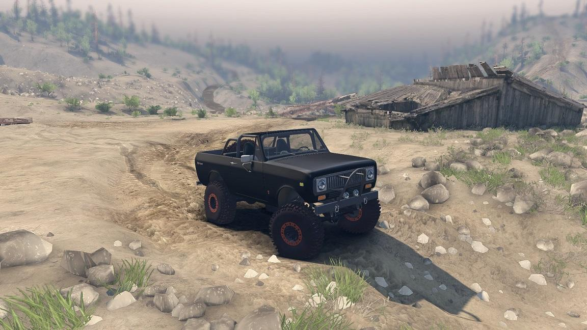 SID 1977 International Scout II Open Top 1.0 для Spintires - Скриншот 2