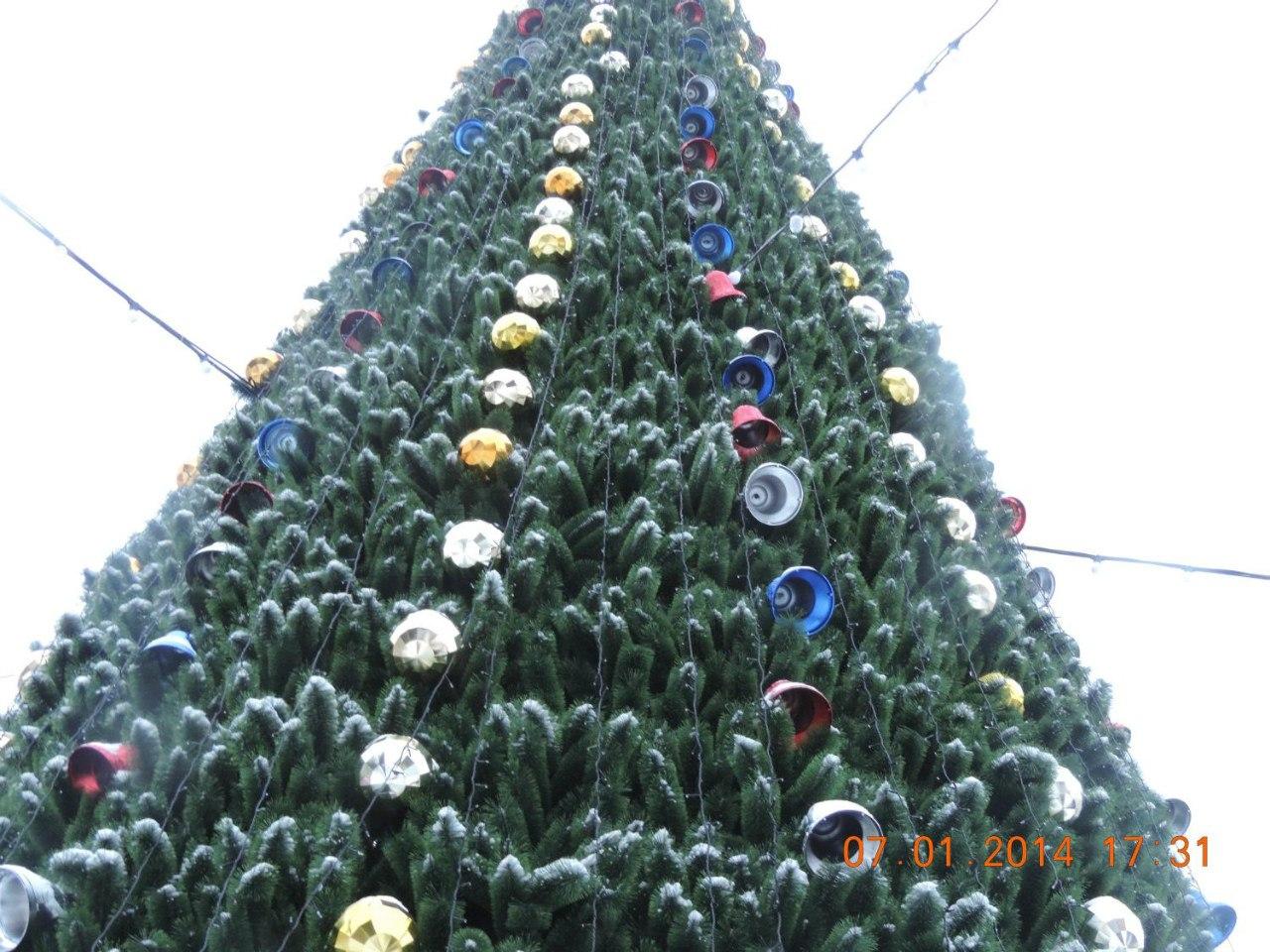 Главная елка крупным планом (17.01.2014)