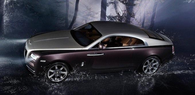 Rolls-Royce Wraith обновленное купе на Женевском автосалоне 2013