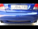 2000 Ford Mondeo ST200 exhaust sound
