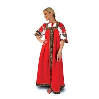 Русский сарафан для девочки своими руками.