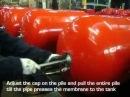 Pressure tanks . Varem - Membrane replacing - Expansions vessels