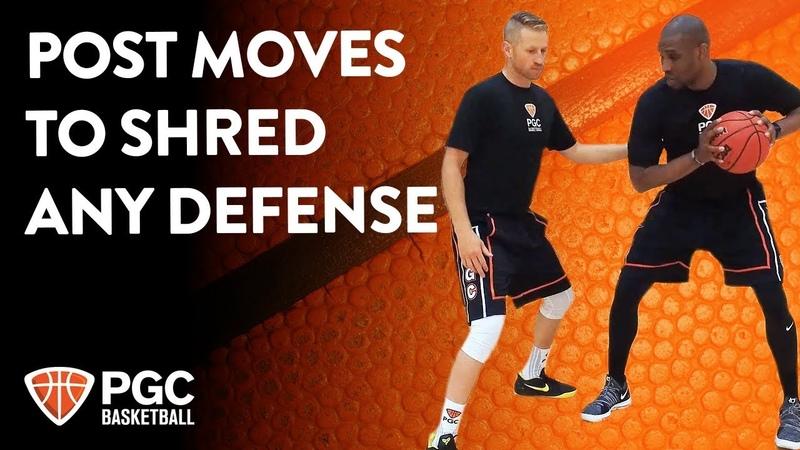 Post Moves To Shred Any Defense | Skills Training | PGC Basketball