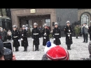 выступление Кремлёвских курсантов