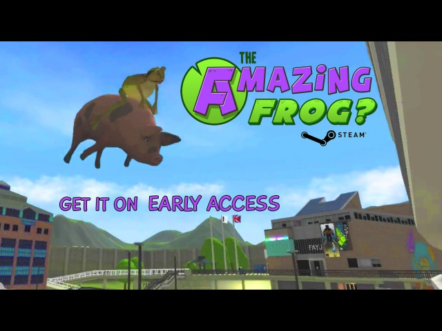 Amazing Frog Steam Early Access Trailer
