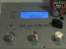 Клаус Хоффманн Хук демонстрирует MEMOTRON в сравнении с оригинальным меллотроном нем Часть 4
