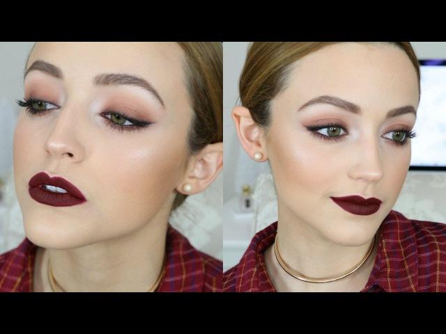 Affordable Fall Vampy Makeup Look