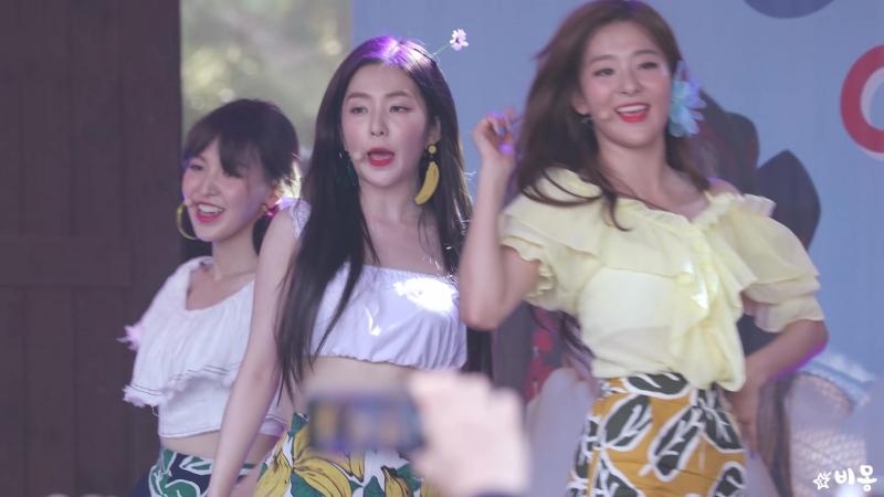 안무 까먹은 아이린 Irene 빨간 맛 Red Flavor 레드벨벳 Red Velvet 캐리비안베이팬사인회