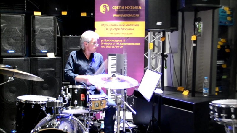 Музыкальные фрагменты с мастер-класса Аркадия Баклагина
