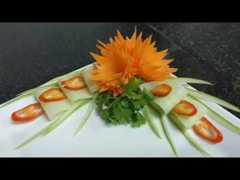 Alô Cú Đêm Hướng dẫn tỉa hoa cà rốt xoáy