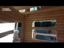 Обзор сруба дома-бани для дачи с мансардой из оцилиндровки