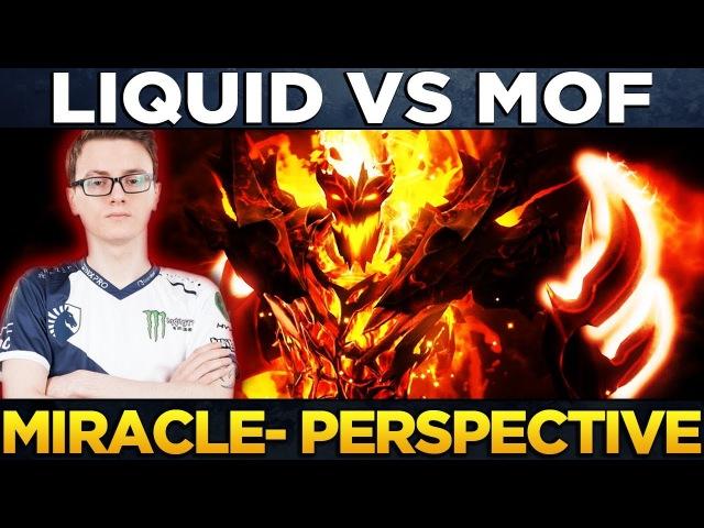 Liquid vs MoF - Player Perspective Miracle- (Shadow Fiend Bounty) - Dota 2