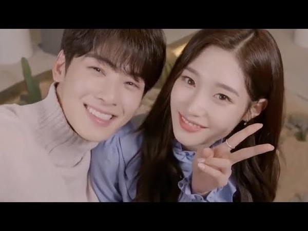 [ENG-SUB] 171215 Jung Chaeyeon and Cha Eunwoos Wonderful Day - Mini Drama (Cut)