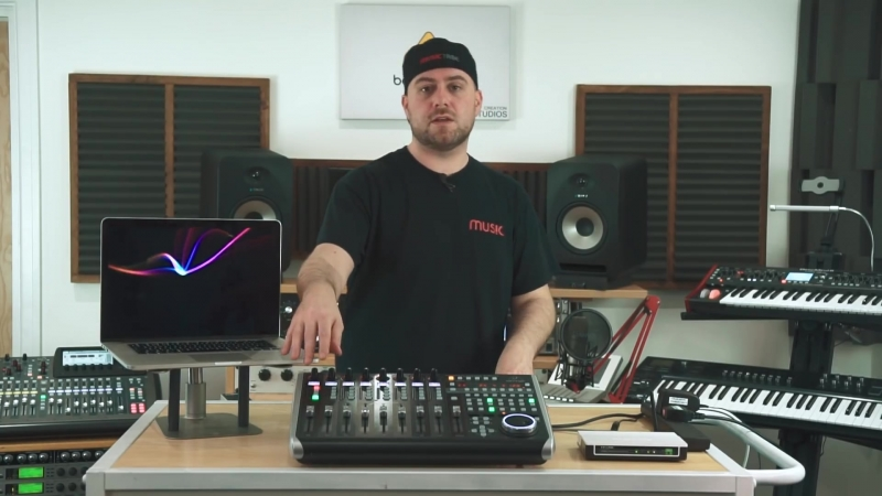 X-TOUCH HOW TO MIX DAW OVER WIFI