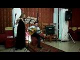 Анна Слатова(флейта),Арсен Тлехурай (гитара)