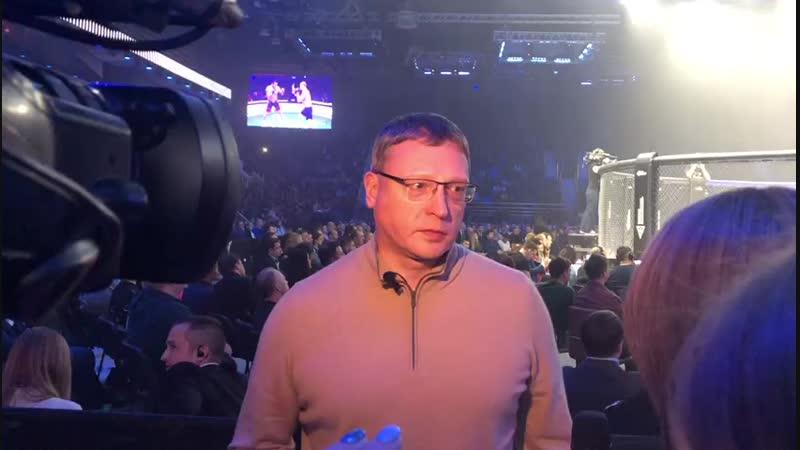 Что Бурков сказал перед боем Шлеменко 2