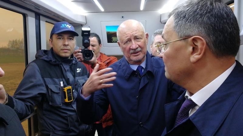 Первый полет на Юнибусе делегации из Екатеринбурга
