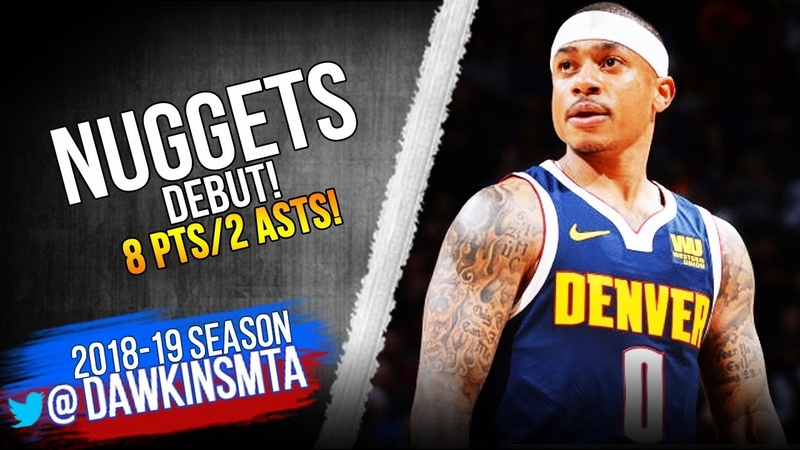 Isaiah Thomas Nuggets DEBUT 2019 02 13 vs Kings 8 Pts in Injury RETURN FreeDawkins