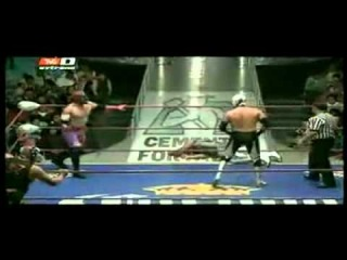 Metatrón, Starman, Súper Halcón Jr. vs Camorra, Siki Ozama Jr., Toro Bill Jr.