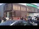 Чечня. В Грозном офисы компании Билайн и Мегафон закидали яйцами. (Конкурс Россия 10)