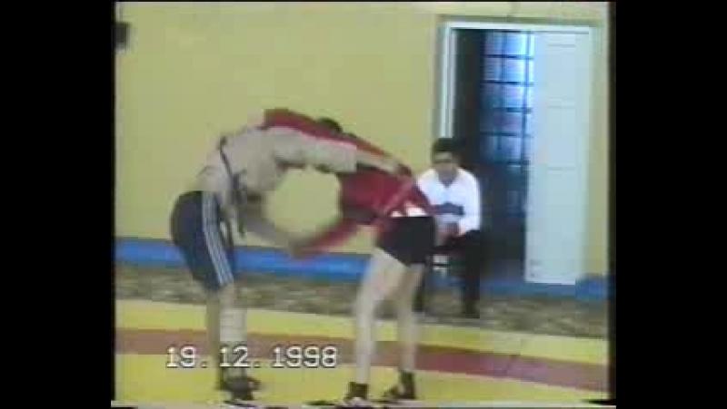 Чемпионат Республики Коми по САМБО. Печора 19.12.1998