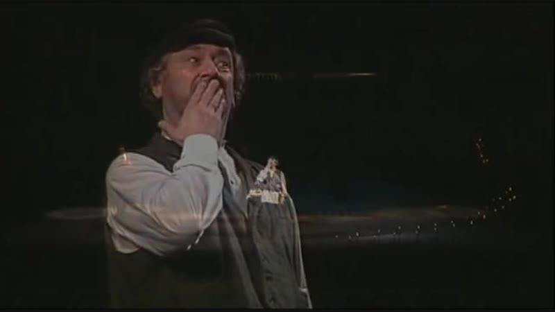 Вистава Національного академічного драматичного театру ім. І.Франка Тев'є-Тевель. В ролі Тев'є Богдан Ступка