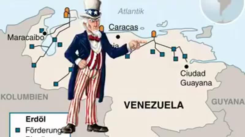 Libyen und jetzt ist Venezuela drann hat schließlich nach neusten Stand das meiste gleichen Methoden