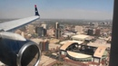 Awesome Downtown Approach Fantastic HD 757 Landing At Phoenix Sky Harbor