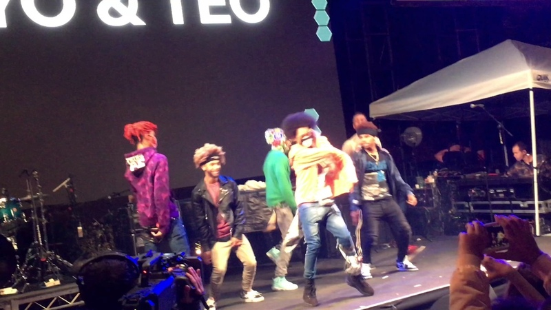 Ayo Teo x The Future Kingz (Full Performance) Mask Off Live